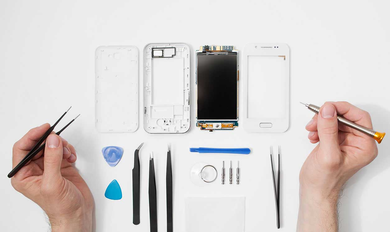 Be ready to be a phone repair technician